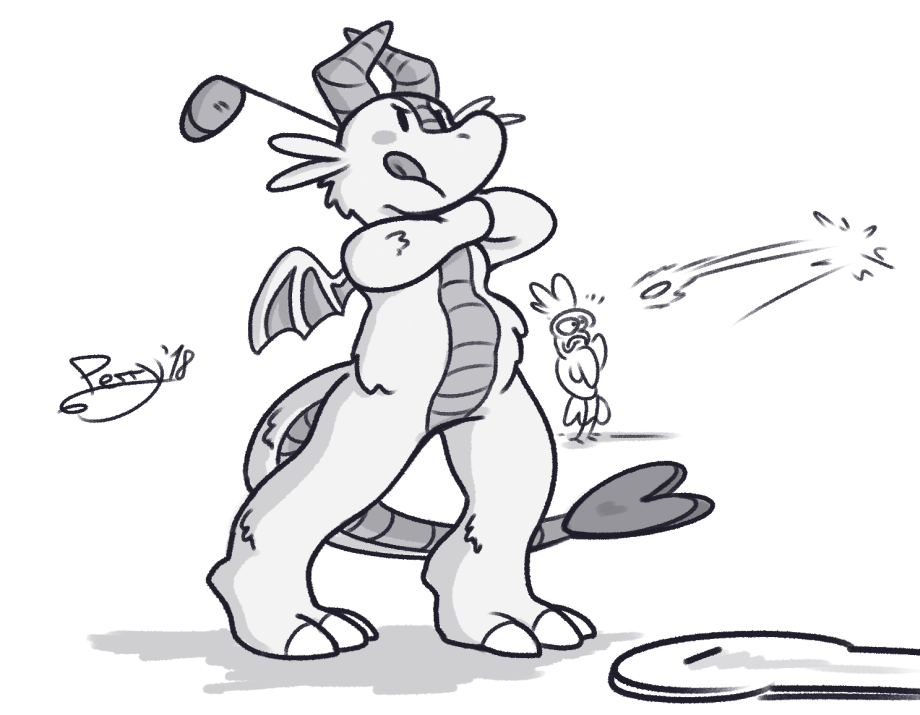 Dragon Strength Mini-Golf by Perry